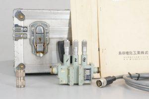 島田理化工業 3.6~4.2GHz 4GHz帯可変ろ波器ろ波器部 マイクローメーター