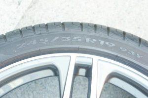 2016年製 PIRELLI P-ZERO Cinturato タイヤ 245/35R19 93Y ホイール 19インチ×8.0J PCD112 +38 audi