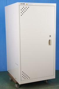 AS ONE LSR-W-T スチール製 薬品庫 1列1段 ステンレス・スチール製 ラボサーバーラック