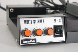 iuchi M-3 MULTI STIRRER スターラー*5 コントローラー付 マルチスターラー
