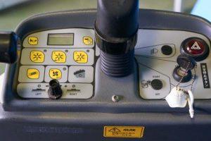 ZAOH 搭乗式スィーパー 充電器付 シルバー800