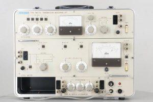 ANDO PMS-6C TRANSMISSION MEASURING SET AL-2670-A 取扱説明書 ケース付 携帯形伝送特性測定器