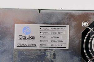 Otsuka Photal 赤外単色光源システム SPG-120IR AT-100HG